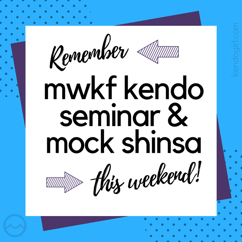 mwkf kendo seminar and mock shinsa