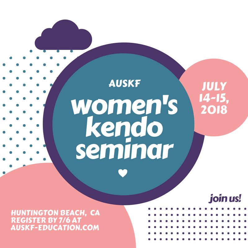 auskf women kendo seminar